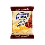 Patatas fritas Vidal Artesanales con Jamón 16 bolsas