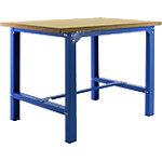 Banco de trabajo Simonrack Azul, haya 150 (a) x 84 (h) x 75 (p) cm