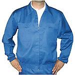 Cazadora VERTICE 65% poliéster, 35% algodón talla 60 azul marino