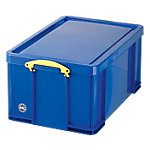 Caja de almacenaje Really Useful Boxes polipropileno 44 (a) x 31 (h) x 31 (p) cm azul
