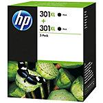 Cartucho de tinta HP original 301xl negro d8j45ae paquete 2