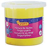 Pintura de dedos JOVI lavable amarillo 125 ml