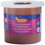 Pintura de dedos JOVI lavable marrón 125 ml