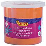 Pintura de dedos JOVI lavable naranja 125 ml