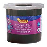 Pintura de dedos JOVI lavable negro 125 ml