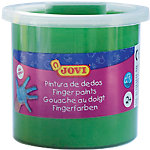 Pintura de dedos JOVI lavable verde 125 ml