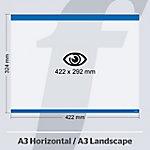 Sistema de fijación PosterFix A3 422 (a) x 324 (h) mm azul 5 unidades