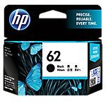 Cartucho de tinta HP original 62 negro c2p04ae