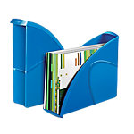 Revistero CEP Glossy azul 24 x 32 cm poliestireno 8,5 (a) x 31 (p) x 27 (h) cm