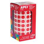 Gomets en rollo Apli Redondos rojo 10,5mm (Ø) 5.192 unidades