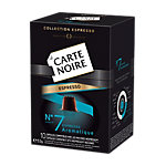 Cápsulas CARTE NOIRE N°7 Espresso Aromatique 10 unidades