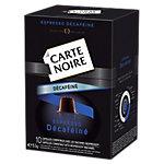 Cápsulas CARTE NOIRE Espresso descafeinado 10 unidades