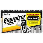 Pila Energizer Alkaline Power paquete 16