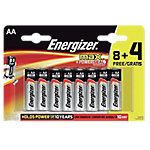 Pilas Alcalinas Energizer paquete 12