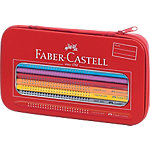 Estuche de metal Faber Castell Grip Color