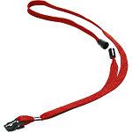 Cinta para identificadores Durable 8119 03 rojo tejido 10mm (a) x 44cm (l) 10unidades