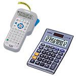 Calculadora + rotuladora de etiquetas Casio MS120TERII