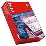 Etiqueta impresora matricial APLI blanco 88,9 (a) x 23,3 (h) mm 6000 etiquetas por paquete caja de 6000