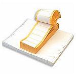 Etiqueta impresora matricial APLI blanco 88,9 (a) x 23,3 (h) mm 12000 etiquetas por paquete caja de 12000