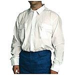 Camisa manga larga poliéster talla m Blanco