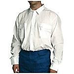 Camisa manga larga poliéster talla l Azul marino