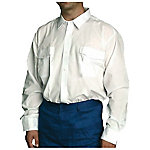 Camisa manga larga poliéster talla xl Blanco