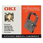 Cinta para impresora OKI Original 09002303 Negro