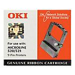 Cinta para impresora OKI Original 09002315 Negro