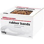 Gomas elásticas Office Depot natural 100g