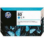 Cartucho de tinta HP original 80 cian c4846a