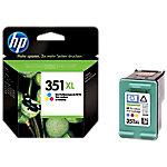 Cartucho de tinta HP original 351xl 3 colores cb338ee