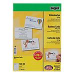 Tarjeta de visita Sigel DP830 liso 185 g