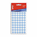 Etiqueta adhesiva redonda APLI Azul 315 etiquetas por paquete Paquete de 5