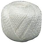 Ovillo de lino Viso 2 cabos Blanco 164m (l)