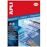 Etiqueta APLI HD transparente 70 (a) x 37 (h) mm 480 etiquetas por paquete