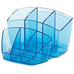 Organizador sobremesa CEP Ice Blue 580 i azul translúcido 15,8 (a) x 14,3 (p) x 9,3 (h) cm