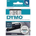 Cinta para rotuladora DYMO D1 negro sobre blanco 9mm (a) x 7m (l)