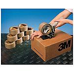 Precinto de polipropileno 3M Silenciosa marrón 43 micras 50mm (a) x 132m (l)