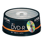 Spindle 25 DVD R 47 GB TDK