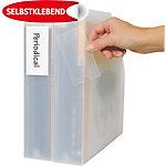 Porte étiquettes Polypropylène 3L 10305 75 (H) x 19 (l) mm Transparent   16