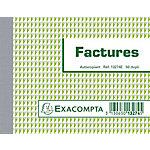 Manifold Exacompta Factures Dupli autocopiant A6 100 Pages