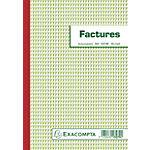 Manifold factures Exacompta Tripli autocopiant 21 x 14,8 cm