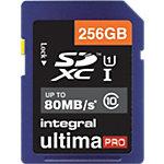 Carte SDXC Integral UltimaPro Bleu