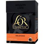 Capsules de café L'OR EspressO Intensité 4   10