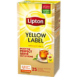 Sachets de thé Lipton Yellow Label Thé noir   25 Unités