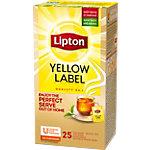 Sachets de thé Lipton Yellow Label Thé noir   25