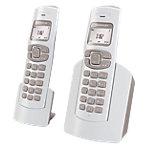 Téléphone sans fil   Sagemcom   D182 Duo   Blanc