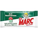 Lingettes nettoyantes? St Marc Anti bactériennes   80