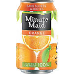 Canettes Minute Maid Orange 330 ml   24 Cannettes