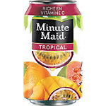 Canettes de jus tropical Minute Maid Tropical 330 ml   24 Cannettes